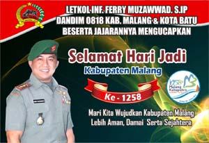 iklan Ucapan HUT Kabupaten Malang