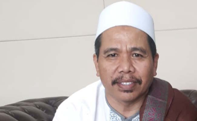 KH Moch Nur Kholili, Mubaligh Kondang Kabupaten Malang dan Jawa Timur. (H Mansyur Usman/Memontum.Com)